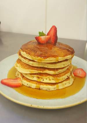 Pancake recipe by head chef killian odonohoe conyngham arms nearly upon us and we have the perfect recipe to make some delicious light and fluffy homemade pancakes from scratch follow the simple steps below and ccuart Choice Image